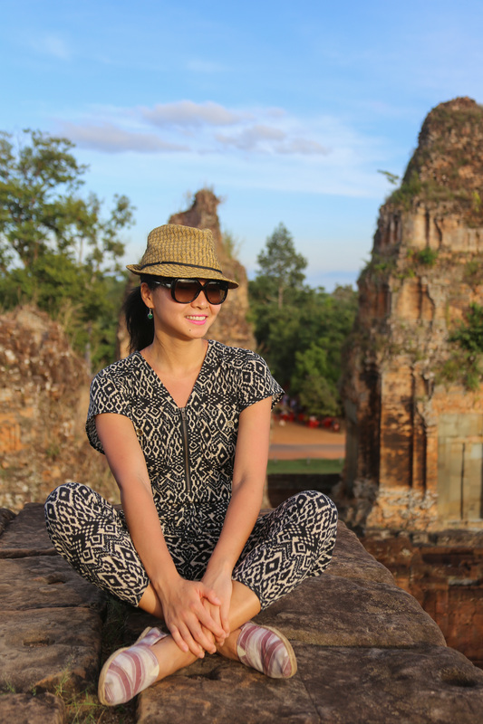Sunset style in pre rup
