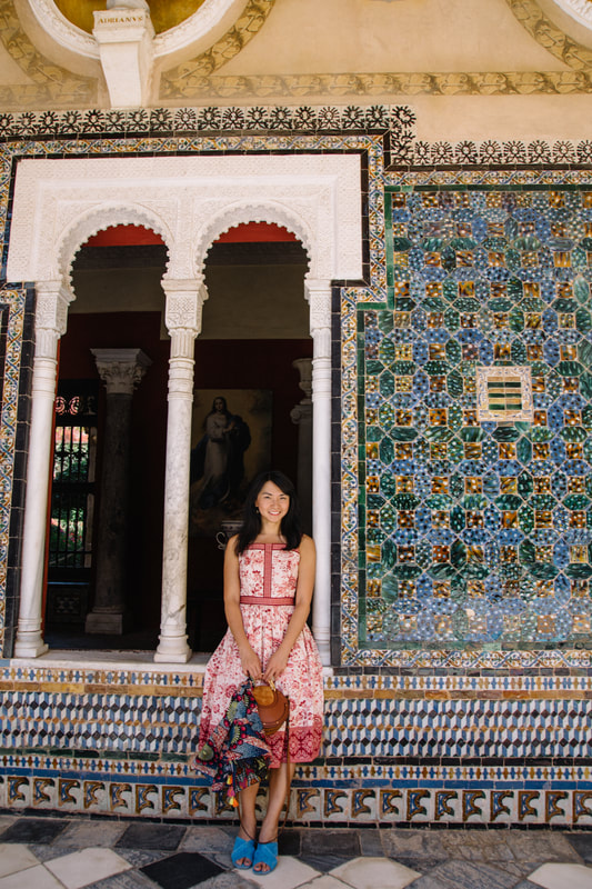 Visiting Casa de Pilatos